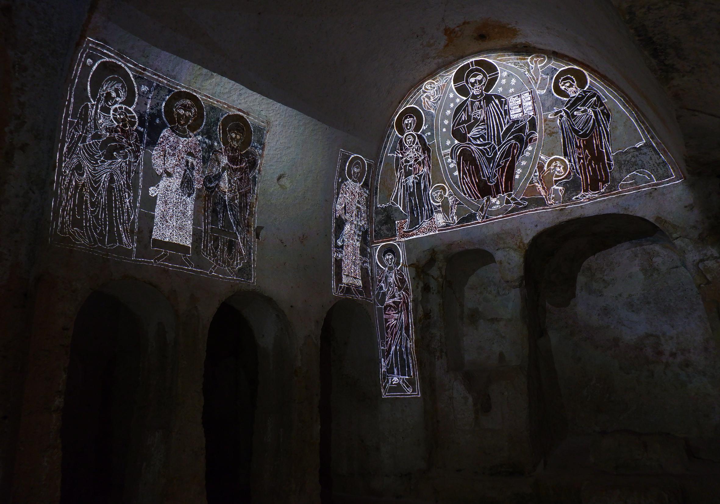 lama d'antico virtual restoration experience
